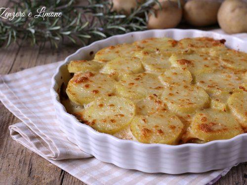 Torta di patate e mortadella
