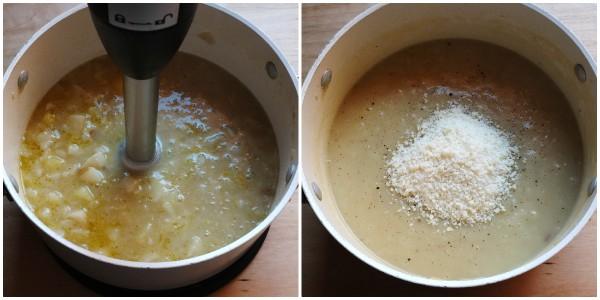 vellutata di patate e topinambur - procedimento 2