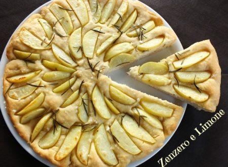 Focaccia morbida con le patate