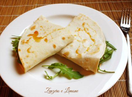 Piadina vegetariana – ricetta velocissima