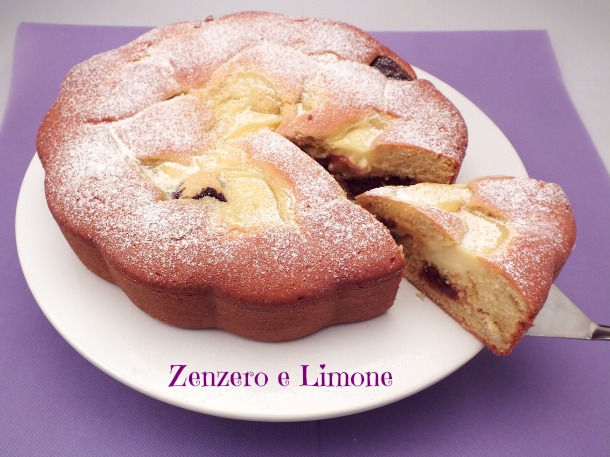 Top Torta Nua   ricetta imperdibile   Zenzero e Limone IZ02