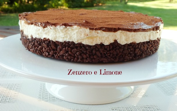 Cheesecake Con Base Croccante Zenzero E Limone