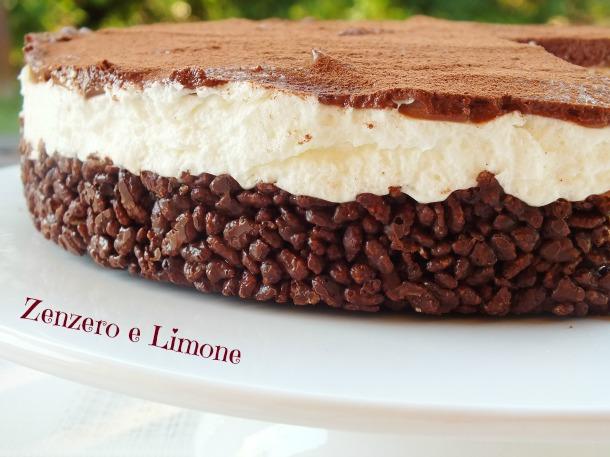 cheesecake con base croccante -