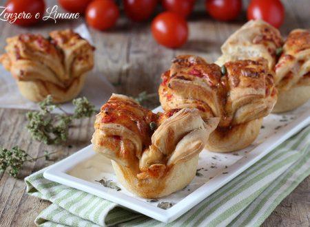 Fiori di pizza – ricetta sfiziosa