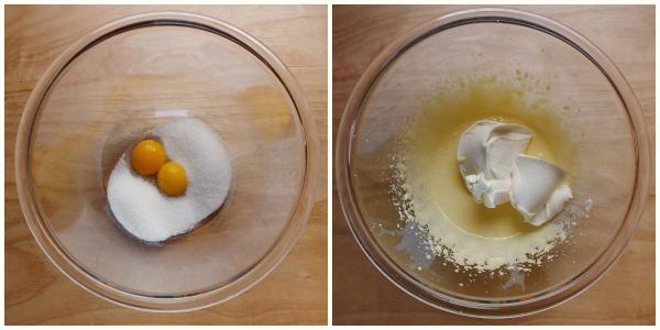 crostata tiramisu - crema