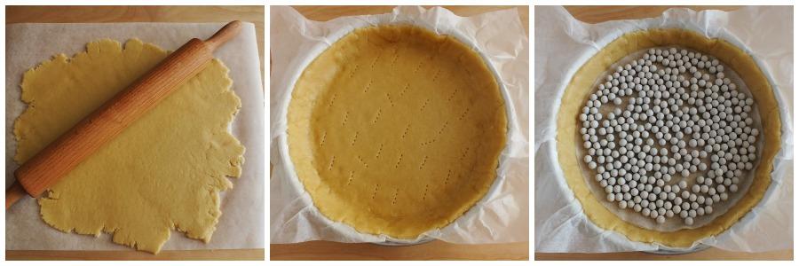 crostata tiramisu - procedimento 1