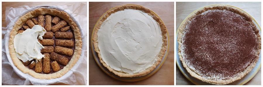 crostata tiramisu - procedimento 2