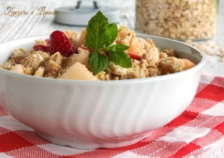crumble di macedonia
