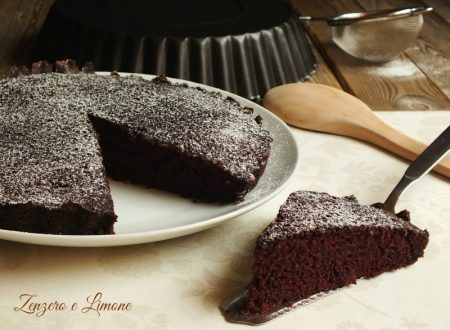 Torta matta – Crazy cake   ricetta senza burro nè uova