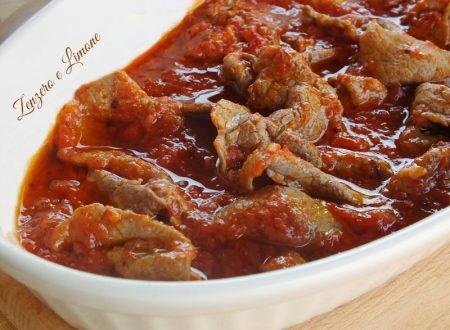 Carne alla pizzaiola | ricetta Bimby