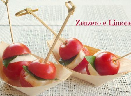 Bocconcini di caprese – ricetta finger food