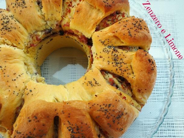 ciambella di pan brioche -
