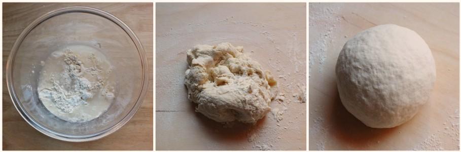 sfoglie di pane senza lievito 1