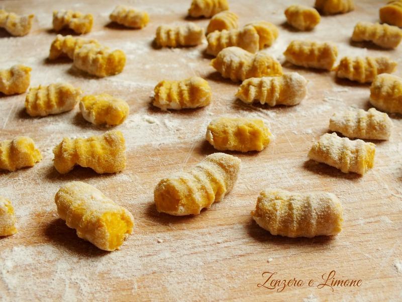 gnocchi zucca e patate