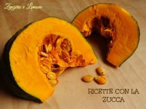 RICETTE CON LA ZUCCA