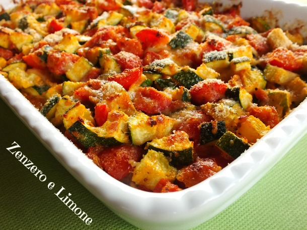 Zucchine in padella o al forno trifolate o al pomodoro allo zafferano al formaggio - Forno e microonde insieme ...
