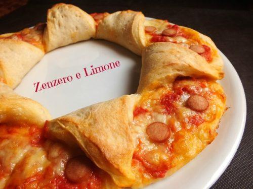 Pizza fiorita – ricetta sfiziosa