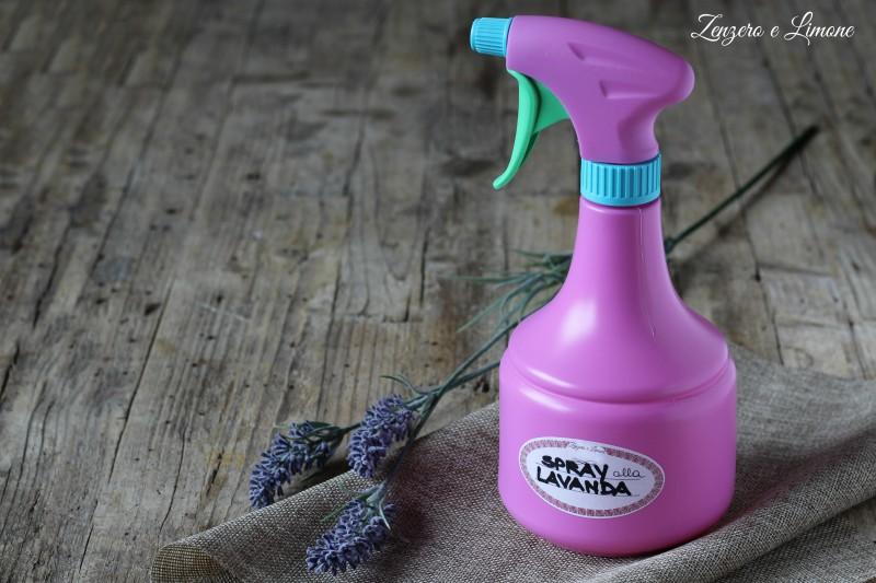 spray multiuso alla lavanda
