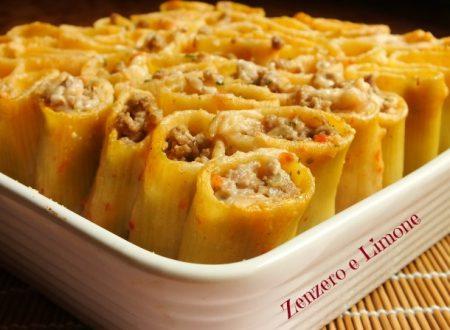 Paccheri ripieni – ricetta pasta al forno
