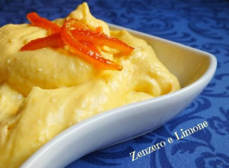 Crema di arancia – ricetta per farcire