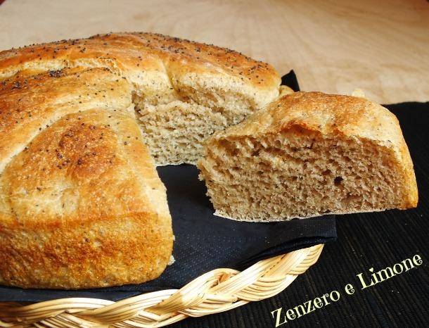 pane con grano saraceno -
