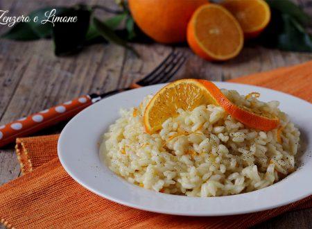 Risotto all'arancia