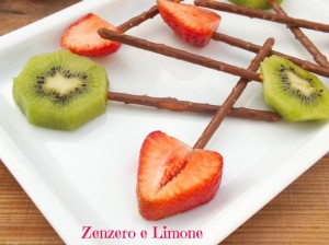 lollipop di frutta -