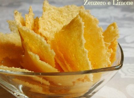 Cialde di grana e fiocchi di patate