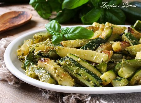 Zucchine al basilico
