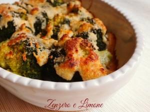 broccolo gratinato -