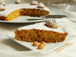 torta di mais e amaretti