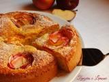 torta di mele fiorita