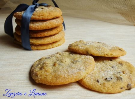 Chocolate nut biscuits