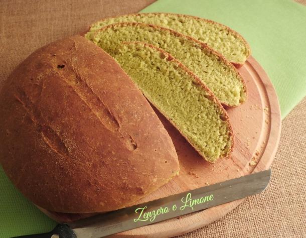 pane al pesto -