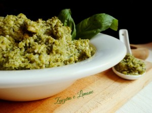 pesto di broccolo -