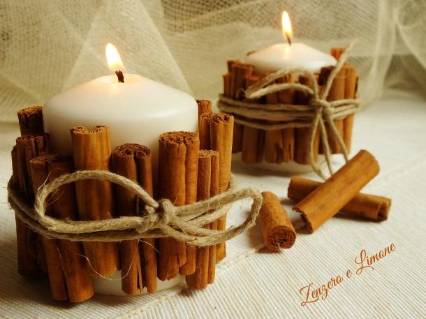 candela fatta in casa