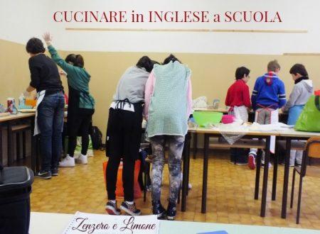 CUCINARE in INGLESE a SCUOLA