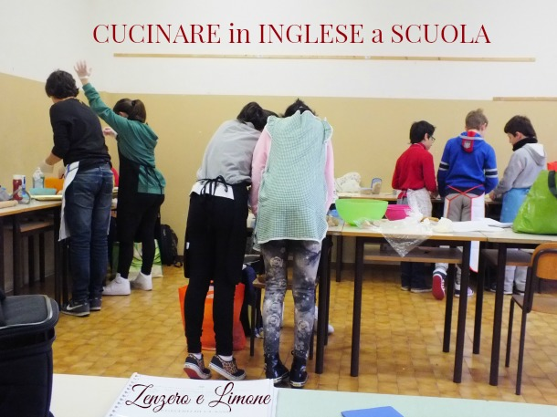 cucinare in inglese a scuola zenzero e limone
