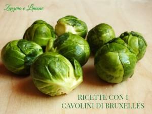 RICETTE CON I CAVOLINI DI BRUXELLES