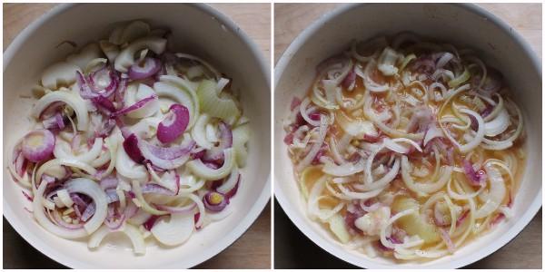 torta salata wurstel - procedimento 1