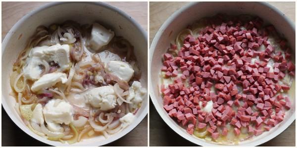 torta salata wurstel - procedimento 2