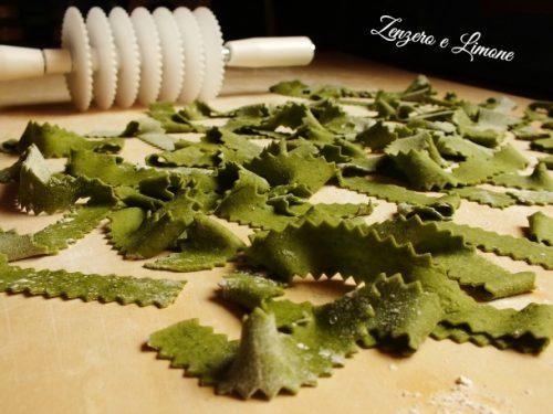 Pappardelle verdi – ricetta pasta fresca