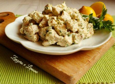 Pollo alla crema – ricetta semplice