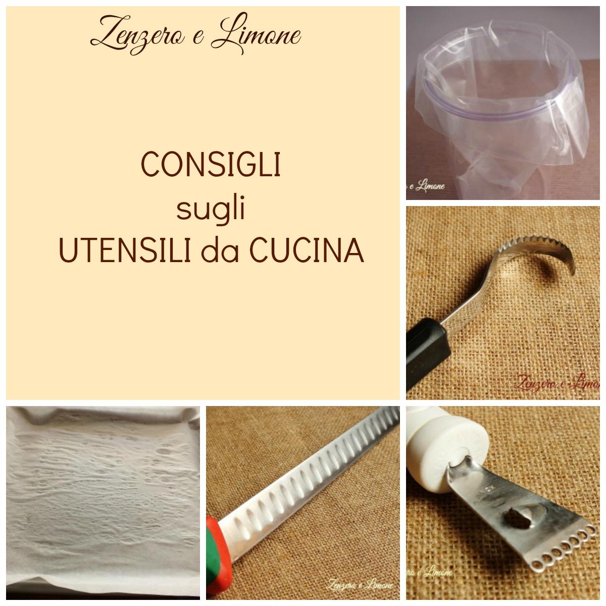 Utensili da cucina consigli zenzero e limone - Stoviglie e utensili da cucina ...