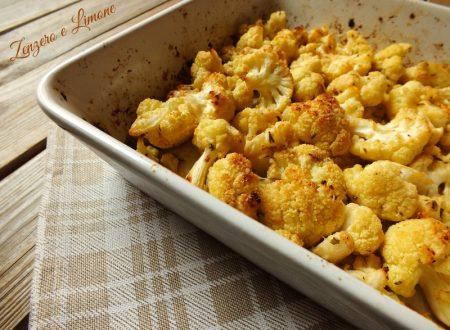 Cavolfiore al forno – ricetta semplice