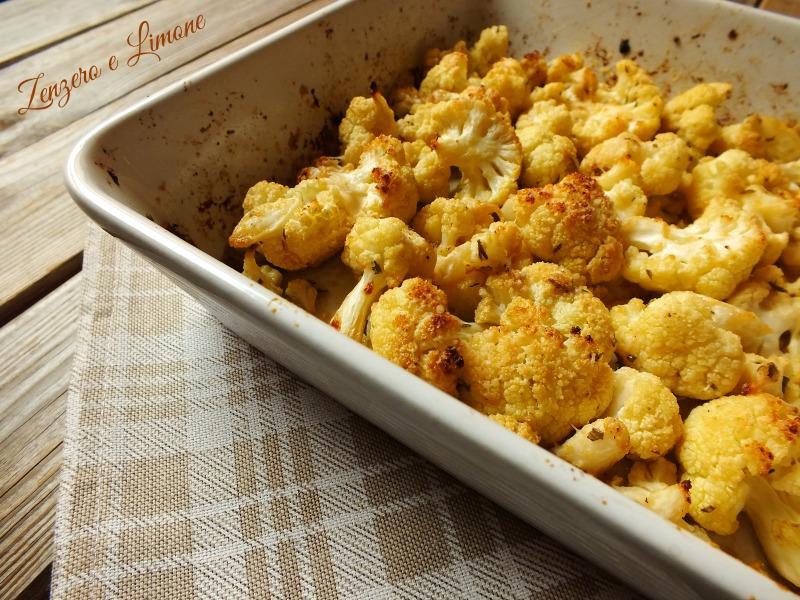Cavolfiore al forno - ricetta semplice | Zenzero e Limone