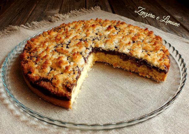 crostata nutella cocco -