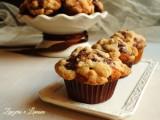 muffins variegati con crumble
