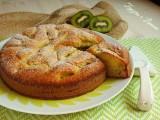 torta ai kiwi - fetta