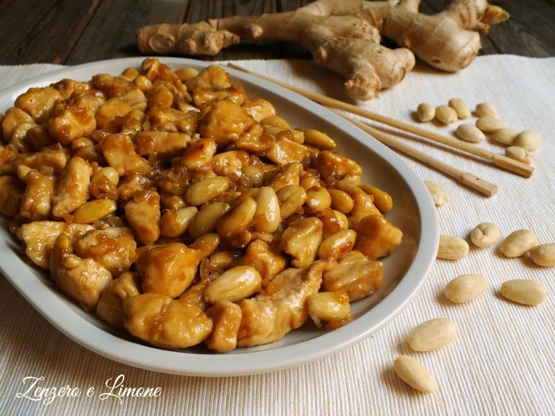 Pollo alle mandorle zenzero e limone for Menu cinese ricette